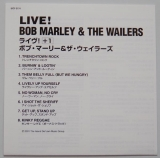 Marley, Bob - Live!, Lyric book