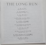 Eagles - The Long Run, Lyric book