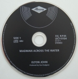 John, Elton - Madman Across The Water, CD
