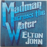 John, Elton - Madman Across The Water, Front Cover