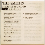 Smiths (The) - Meat Is Murder, Lyrics sheet