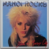Hanoi Rocks - Mystery City, Front Cover