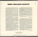 Mulligan, Gerry - Gerry Mulligan Quartet, Vol 1,