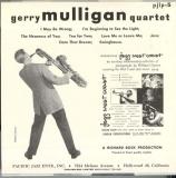 Mulligan, Gerry - Gerry Mulligan Quartet, Vol 2,
