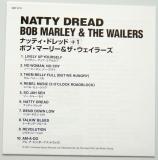 Marley, Bob - Natty Dread, Lyric book
