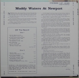 Waters, Muddy - At Newport 1960, Back cover