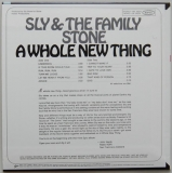 Sly + The Family Stone - Whole New Thing +5, Back cover