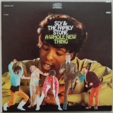 Sly + The Family Stone - Whole New Thing +5, Front Cover