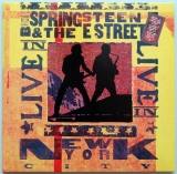 Springsteen, Bruce - Live in New York City, Front cover