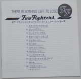 Foo Fighters - There Is Nothing Left To Lose, Lyric book