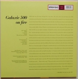 Galaxie 500 - On Fire , Back cover