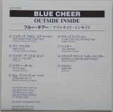 Blue Cheer - Outsideinside, Lyric book