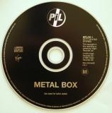 Public Image Ltd - PiL Metal Box, CD