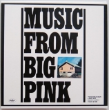 Band (The) - Music From Big Pink +9, Back cover