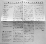 Powell, Cozy : Octopuss : JP Booklet