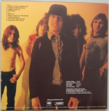 AC/DC - Powerage, Back cover