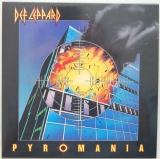 Def Leppard - Pyromania , Front Cover