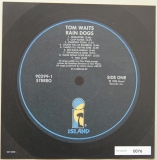 Waits, Tom - Rain Dogs , Font Label (numbered)