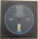 Waits, Tom - Rain Dogs , Back Label