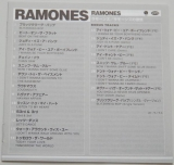 Ramones - Ramones + 8, Lyric book