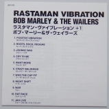 Marley, Bob - Rastaman Vibration, Lyric book