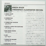 Creedence Clearwater Revival - Green River, Lyric Book