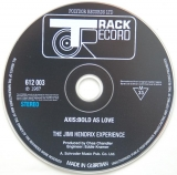 Hendrix, Jimi - Axis: Bold As Love, CD