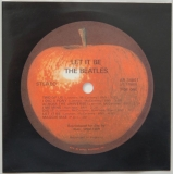 Beatles (The) - Let It Be, Inner sleeve side A