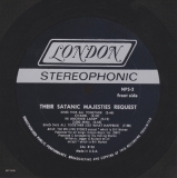 Rolling Stones (The) - Their Satanic Majesties Request, insert card side A