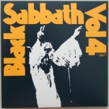 Black Sabbath - Vol.4, Back cover