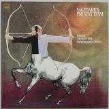Sagittarius - Present Tense + 10, Front Cover
