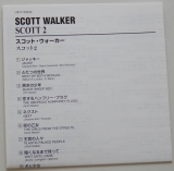 Walker, Scott - Scott 2, Lyric book