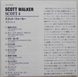 Walker, Scott - Scott 4, Lyric book