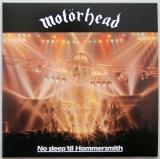 Motorhead - No Sleep 'till Hammersmith, Front cover