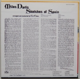 Davis, Miles - Sketches Of Spain, Back cover
