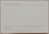 Speed, Glue + Shinki - Speed, Glue and Shinki, postcard back