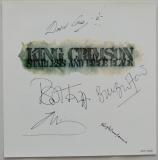 King Crimson - Starless and Bible Black, insert