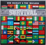 Marley, Bob - Survival, Front cover
