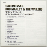 Marley, Bob - Survival, Lyric book