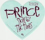 Prince - Sign O' The Times, sticker