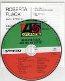 Flack, Roberta : Killing Me Softly : CD & Japanese insert