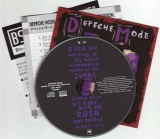 Depeche Mode - Songs of Faith and Devotion, cd & Japanese and English Booklets