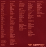 Abba - Super Trouper +2, inner sleeve back