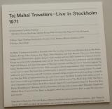 Taj Mahal Travellers - Live Stockholm July 1971, Lyric book