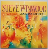 Winwood, Steve - Talking Back To The Night, Front cover