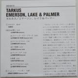 Emerson, Lake + Palmer - Tarkus, Lyric book