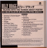 Billy Bragg - Talking With The Taxman About Poetry, Lyric Sheet