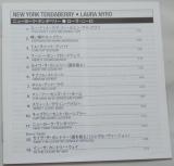 Nyro, Laura - New York Tenderberry, Lyric book