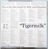 Belle + Sebastian - Tigermilk, Back cover