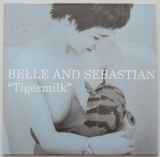 Belle + Sebastian - Tigermilk, Front cover
